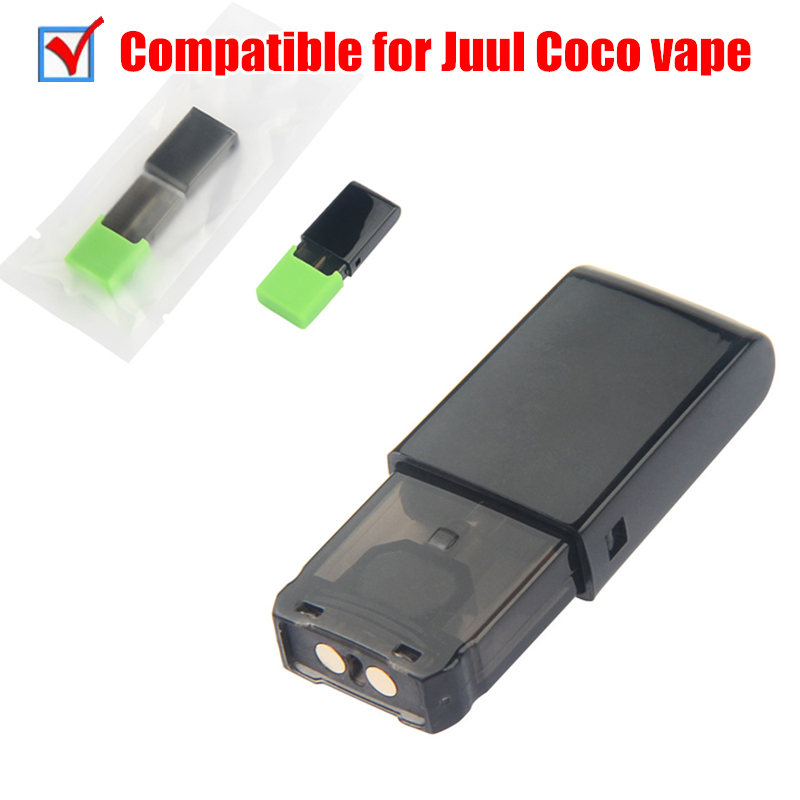 1Pcs MK II Pods Universal For Juul Electronic Cigarette Vaporizer Kit 1ml Thick Oil Vape Pen Replaceable Atomizer