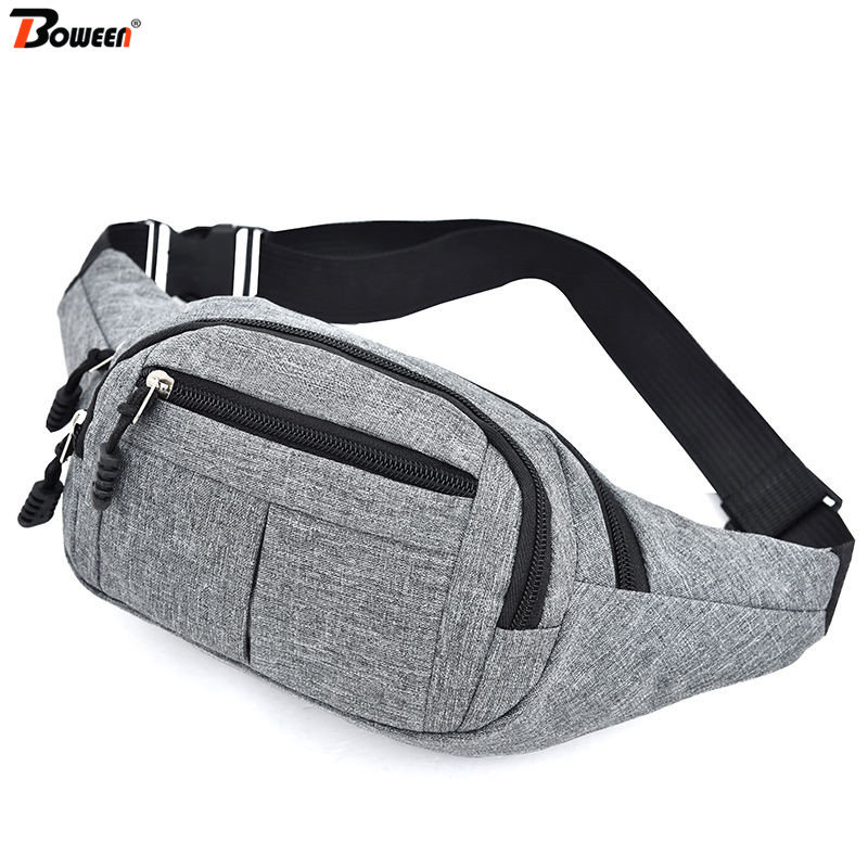 2020 New Belt Bag Women's Waist Bag Men Fanny Pack Casual Outdoor Banana Chest Bag Waist Pack Leisure Phone Pouch Unisex