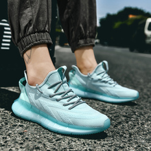 цена Light Weight Outdoor Casual Shoes Men Comfortable Fashion Sneakers Breathable Non-slip Wear-resistant Outdoor Walking Men Shoes онлайн в 2017 году