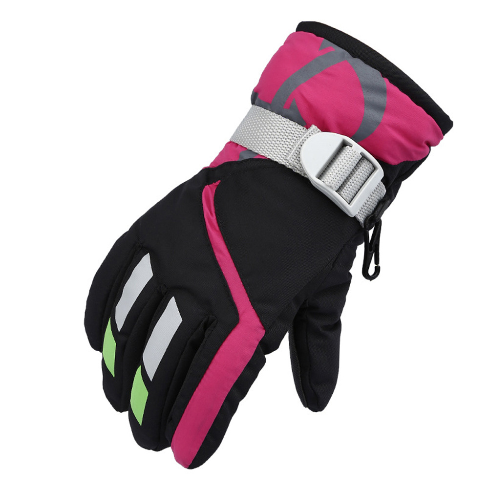 Kids Ski Gloves Waterpoof for Children Winter Outdoor Sports Skiing,Cycling