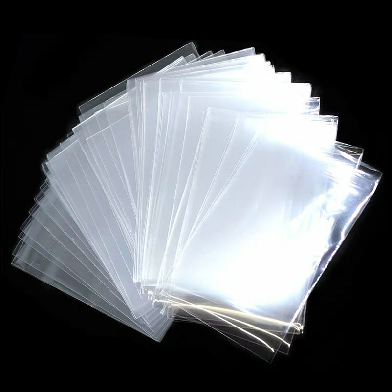 100pcs/lot 65*90mm Transparent Card Sleeve Cards Protector Magic Killers Of Three Kingdom Football Star Card  For Board Games