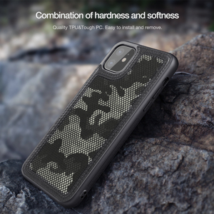 Image 4 - Voor Apple Iphone 11 Pro 2019 Geval nillkin Militaire Camouflage Protector Case Shell Anti Klop Tough Back Cover Voor Iphone 11