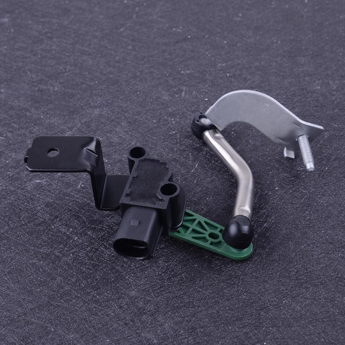 beler Front Right Headlamp Headlight Level Sensor Fit for AUDI Q3 VW Tiguan Passat CC Eos 3C0412522B