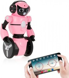 Rosa Roboter WL spielzeug F4 C WiFi FPV kamera steuerung über APP WLT-F4-PINK