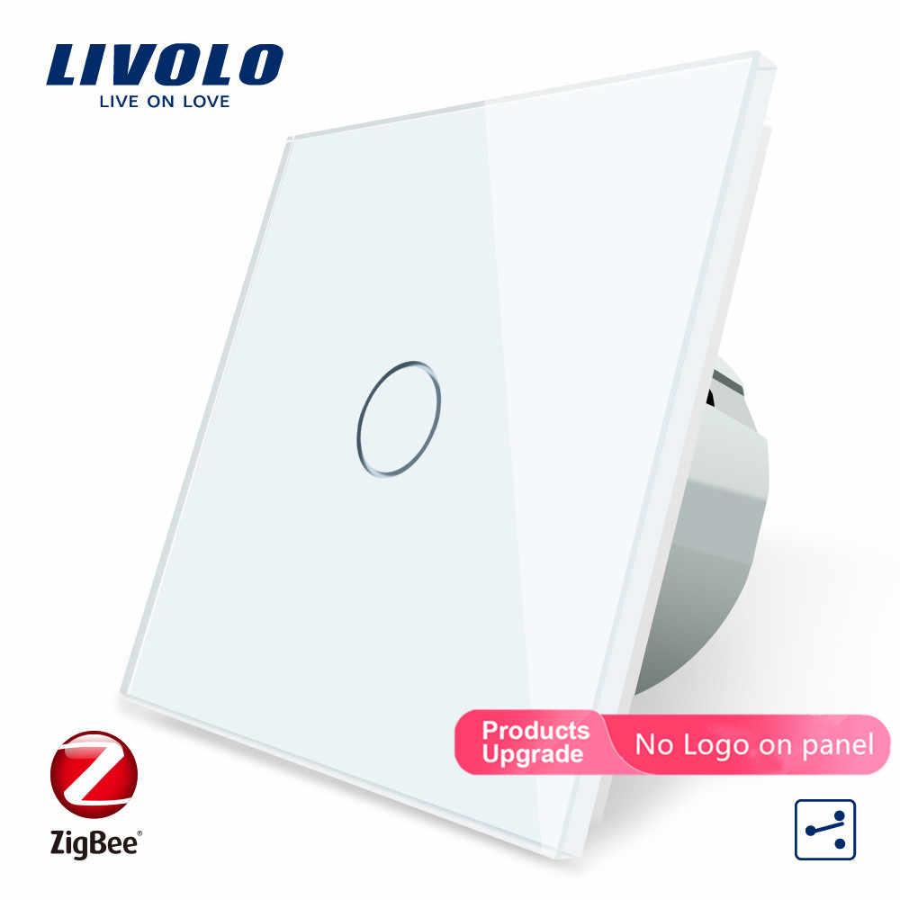 Livolo زيجبي المنزل الذكي واي فاي التبديل اللاسلكية الذكية أتمتة 2 طرق APP التحكم ، يعمل مع جوجل المنزل ، aleax ، صدى ، لا شعار