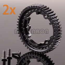 Hot Racing 45#Steel 50T 1 Mod Hardened Steel Spur Gear #6448 For RC Traxxas 1/10 E-Revo VXL 1/5 X-Maxx 1/10 Maxx 1/7 XO-1
