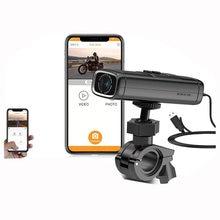 Sameuo – caméra de tableau de bord pour moto Q1, DVR F1440P, avec Novatek IP67, étanche, commande via application WIFI intégrée et vision nocturne