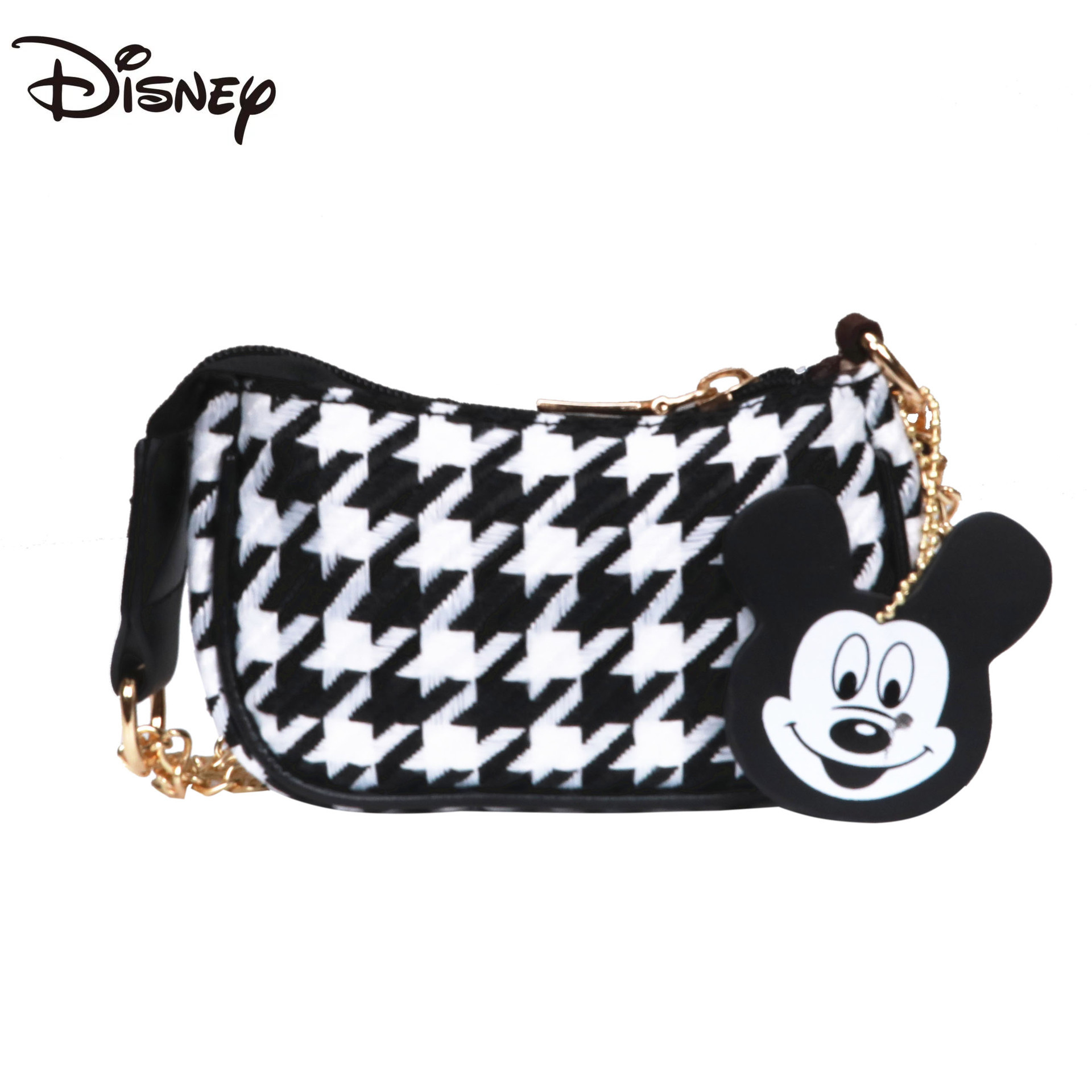New Disney Cute Cartoon Girls One-shoulder Messenger Bag Large-capacity Multi-function Storage Bag Fashion Casual Girl Wallet