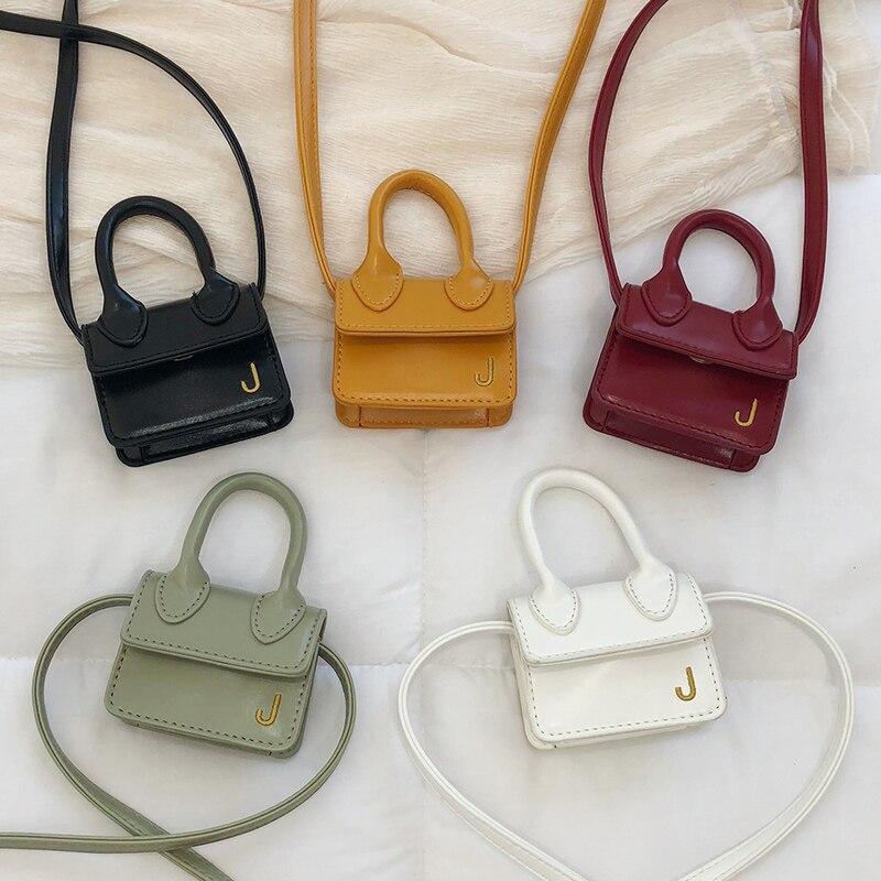 2020 Fashion Super Mini Handbags For Women Cute Shoulder Bags Luxury Designer Small Crossbody Bags J Letter Girls Messenger Bags