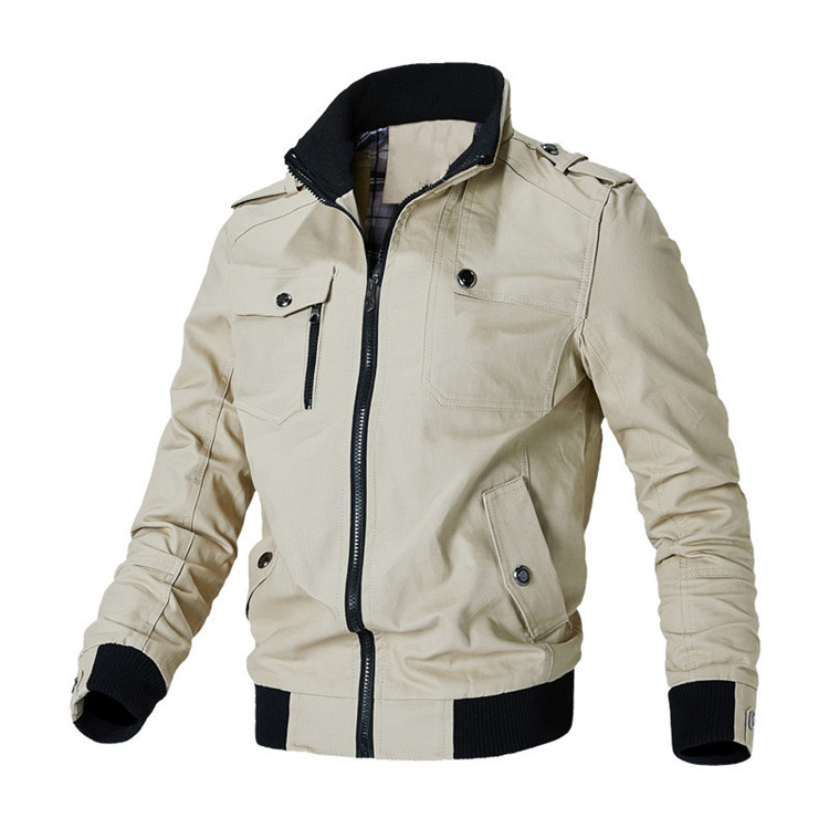 H237a93cd95ce45ae9f66a5225d58457dW Mountainskin Casual Jacket Men Spring Autumn Army Military Jackets Mens Coats Male Outerwear Windbreaker Brand Clothing SA779