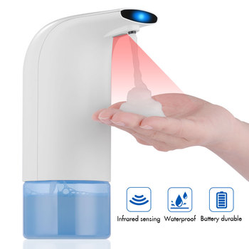 Automatic Liquid Soap Dispenser Touchless Smart Sensor Liquid Soap Dispenser for Kitchen Hand Free Automatic Soap Dispenser клиник liquid facial soap mild