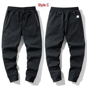 Image 4 - Super Warm Winter Fleece Sweatpants Men Thicken Jogger Pants Male Streetwear Long Trousers Big Sizes 6XL 7XL 8XL