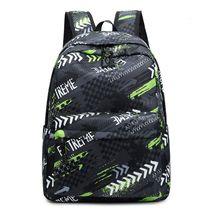 Women Colorful Print Nylon Travel Backpack Casual Daypacl Rucksack Laptop Girl School Book Bag