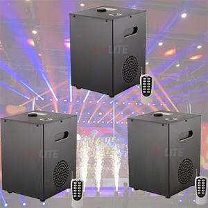 Cold-Fireworks-Machine for Wedding/dj-Use Eco-Friendly Stage-Effects 3pcs Remote-Controlled