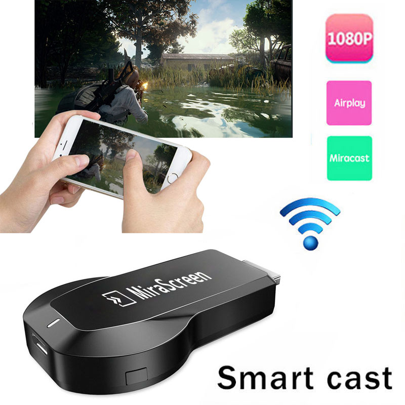 Trådlös Wifi HDMI Dongle Cast till TV-adapter för iPhone 11 X XS MAX XR 5 6 7 8 Plus för Samsung S7 EDGE S8 S9 S10 Note10 Android