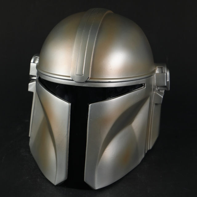 Star Wars Helmet The Mandalorian Helmet Mask Hard PVC Cosplay Mandalorian Soldier Warrior Helmets Masks Adult Star Wars Prop 4