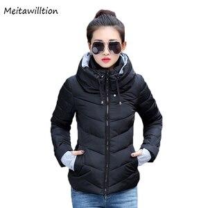 Image 1 - חורף מעיל נשים חדש 2020 סתיו חם למטה מעיל נשי ארוך מעיילי גדול גודל XXXL נשים חורף מעילים להאריך ימים יותר