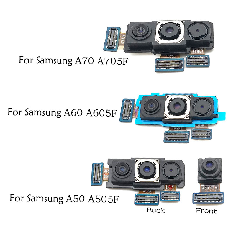 New For Samsung Galaxy A10 A20 A30 A40 A50 A60 A70 A105F A205F A305F A405F A505F Rear Main Back Camera Flex Cable Replacement