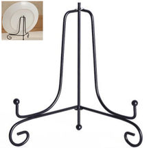 Storage Rack Plate Stands Art Iron Display Stand Bracket Support Holder for Bowl Plate Art Photo Picture Frame Home Decor Tools