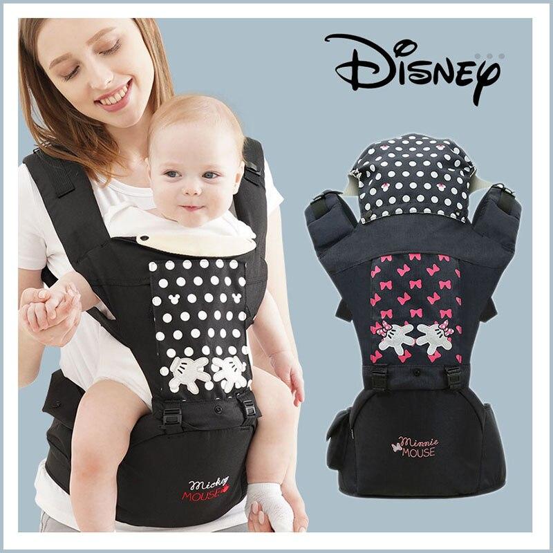 Disney Ergonomic Baby Carrier Backpack With Hipseat For Newborn Multi-function Infant Sling Wrap Waist Stool Baby Kangaroo