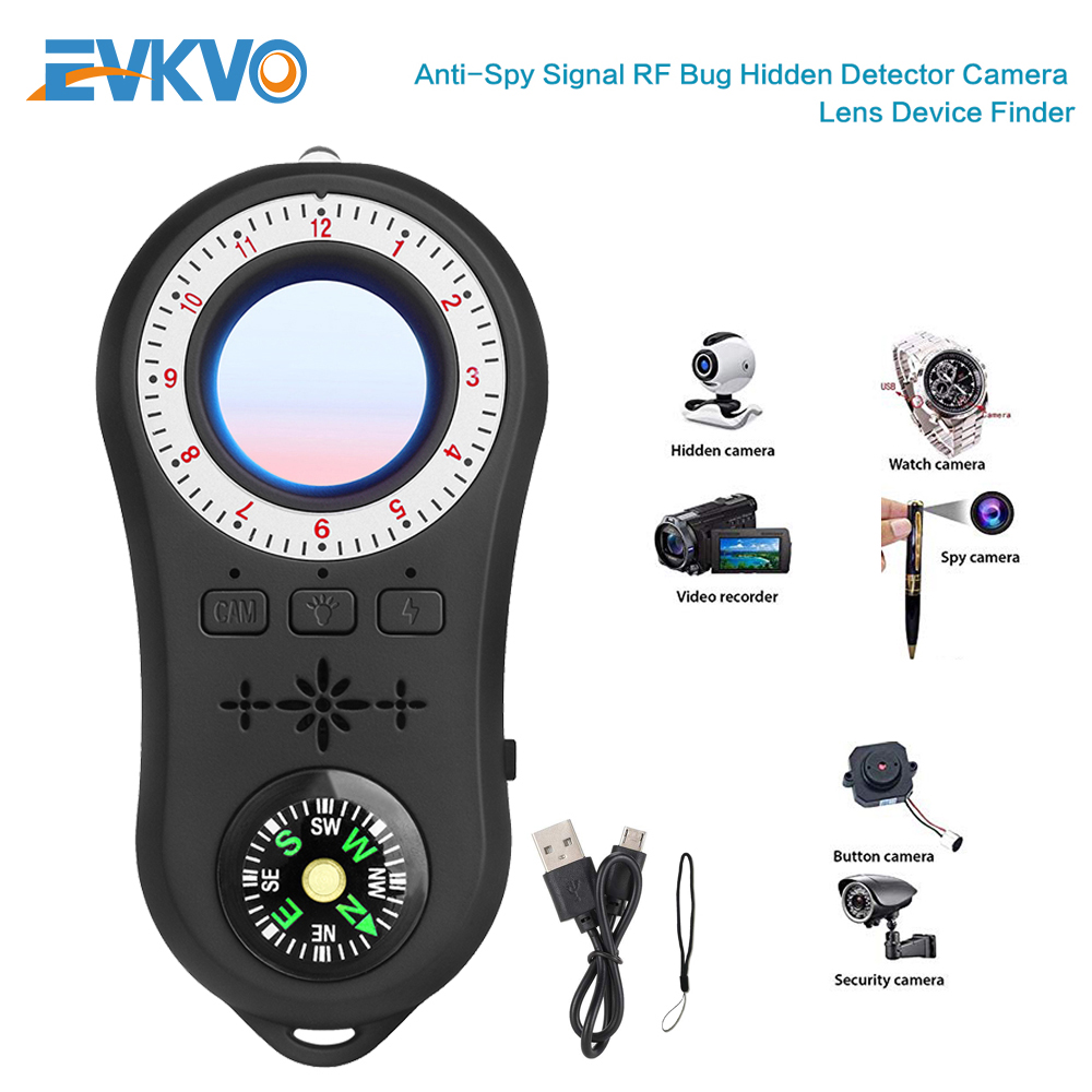 Anti Spy Surveillance Camera Detector Wireless Signal Anti-covert camera finder Signal Lens RF Tracker Detect Wireless Products