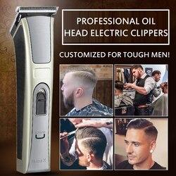 Kemei elektryczna maszynka do strzyżenia włosów wodoodporna wysokiej mocy akumulator do strzyżenia włosów elektryczna maszynka do strzyżenia włosów dla dzieci wycisz fryzjer Cutt