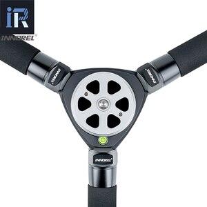 Image 3 - LT324C מקצועי 10 שכבות סיבי פחמן חצובה גמיש Selfie תמונה 1.5M מקסימום גובה חצובה Stand עבור ספורט וידאו מצלמות