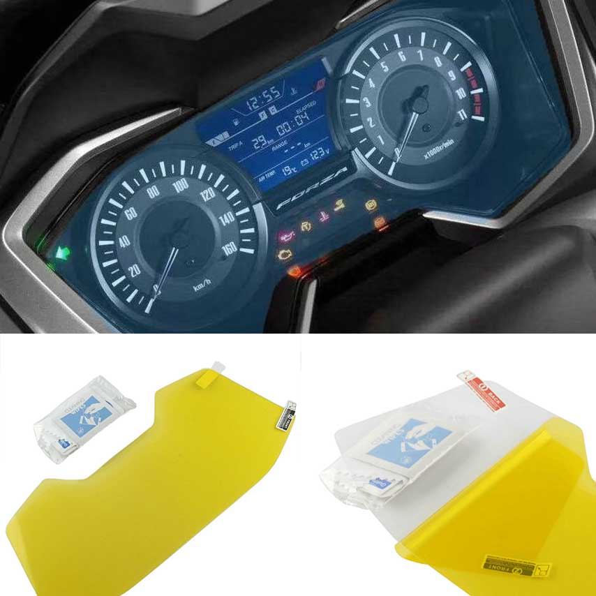 Cluster Scratch Protection Film Screen Protector For Honda Forza300 2018