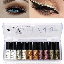 Shimmer Liquid Eyeliner 5 Colors set Metallic Shiny Smoky Ey