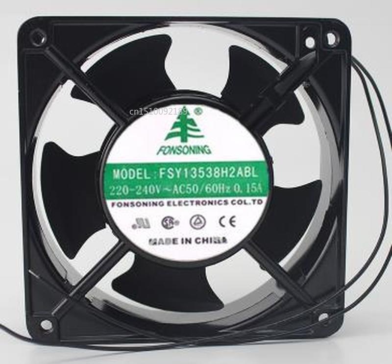 For FONSONING FSY13538H2ABL 13538 220~240v AC Cooling Fan Free Shipping