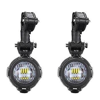 Motorcycle 6000K 8000LM LED Front Illumination Spotlights Headlights Fog Lights for H a r l e y BMW Honda