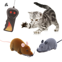 1pcs Creative Mouse Toys Wireless RC Mice Cat Remote Control False Novelty Funny Playing For Cats