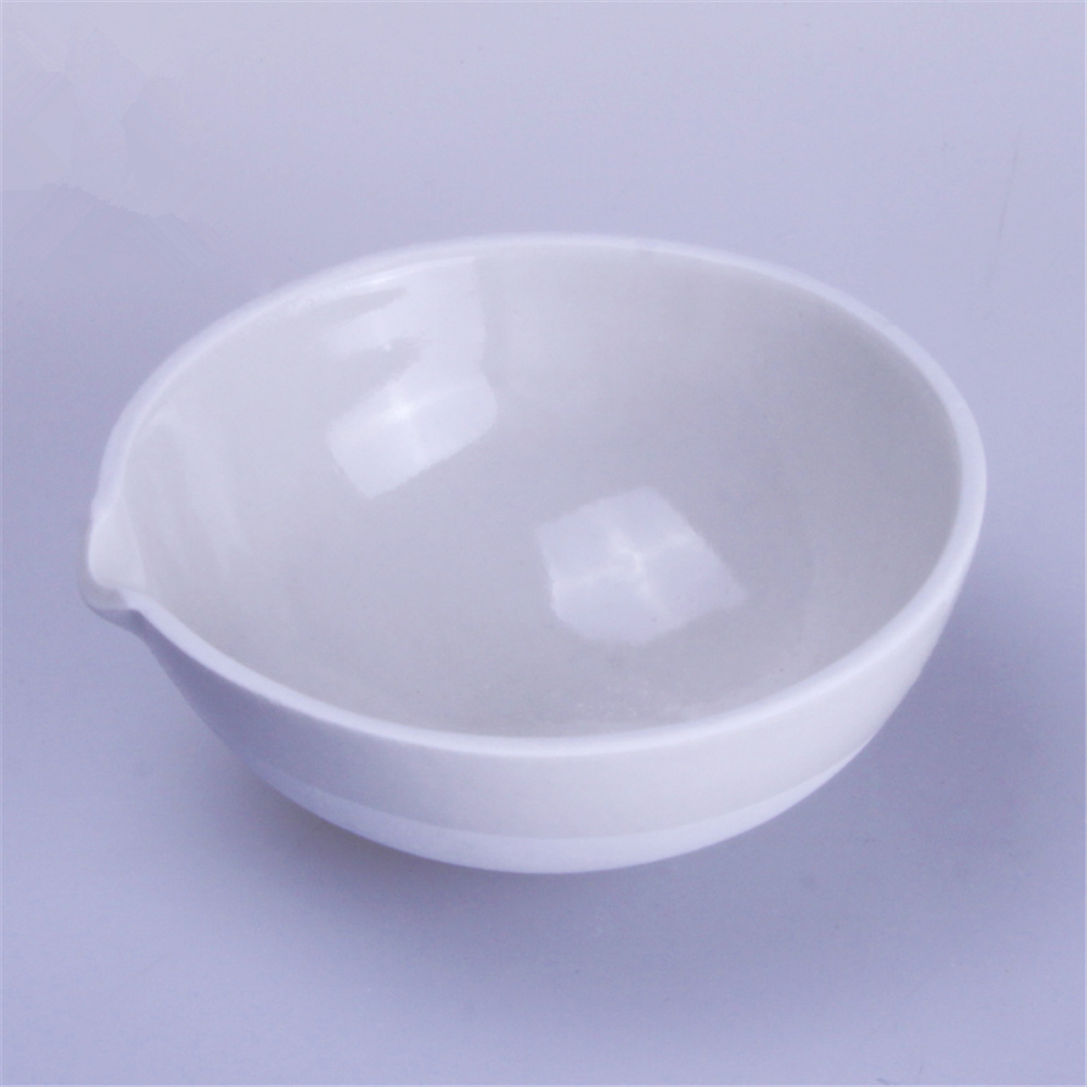 50-1000ml Evaporating Dish,Round Bottom,,Lab Ceramic Dish With Spout For Chemistry Laboratory