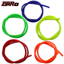 TDPRO 10Pcs Motorcycle Hose 1Meter Petrol Fuel Line Gas Oil Pipe Tube For Yamaha Mini Moto Dirt Bike Honda Suzuki ATV Quad