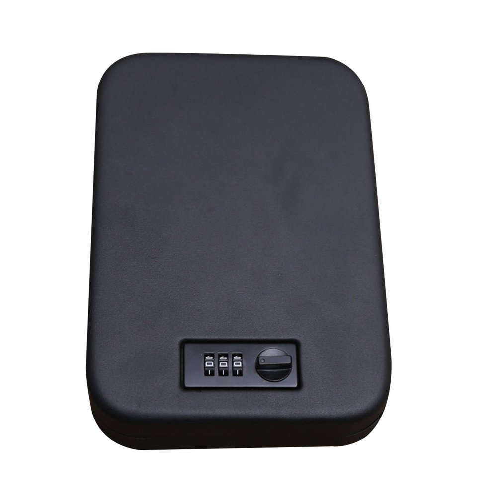 Household Portable Pistol Insurance Box Jewelry Jewelry Cash Anti-Theft Car Insurance Box Anti-Theft Key Box