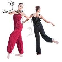 Взрослый Купальник для балета, танцев для женский, черный гимнастики трико для балета для девочек, спортивный костюм, одежда BodysuitCS0041