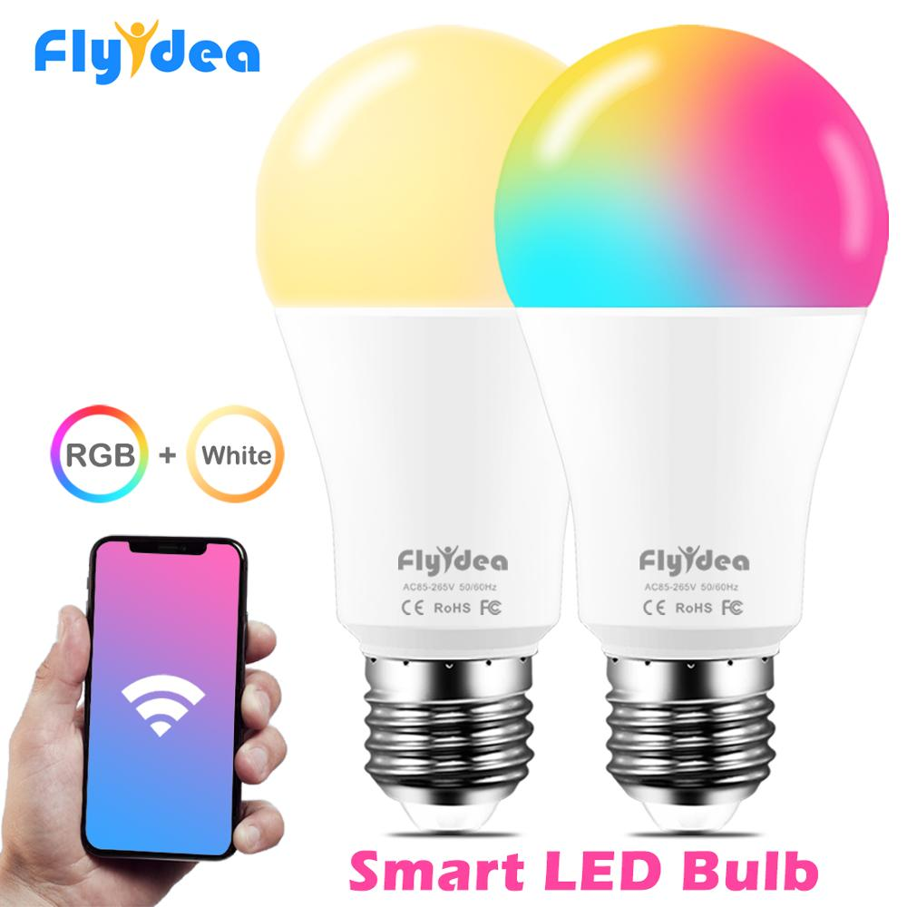 100W equivalent E27 Smart WiFi LED Light Bulb Color Changing Lamp Family grouping Light Compatible Alexa and Google Assistant
