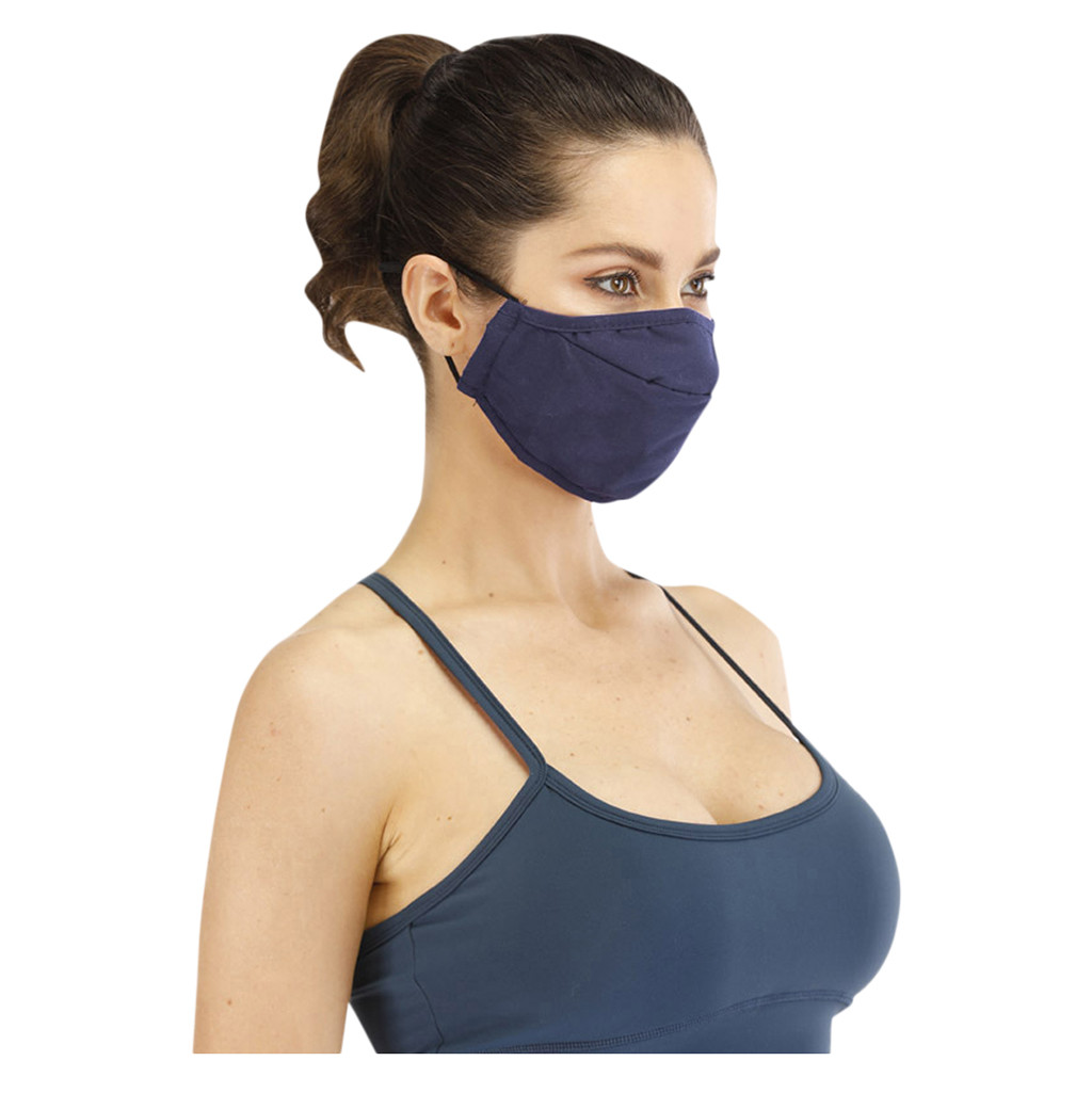 Navy Washable Face Mouth Mask Anti-dust Proof Breathable Prevent Winter Warm Cotton PM2.5 Protective Nose Mouth Face Masks
