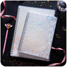 B5 Starry Sky Spiral Coil Notebook Lined Blank Grid Paper Book Journal Diary Sketchbook For School Office Supplies Stationery все цены