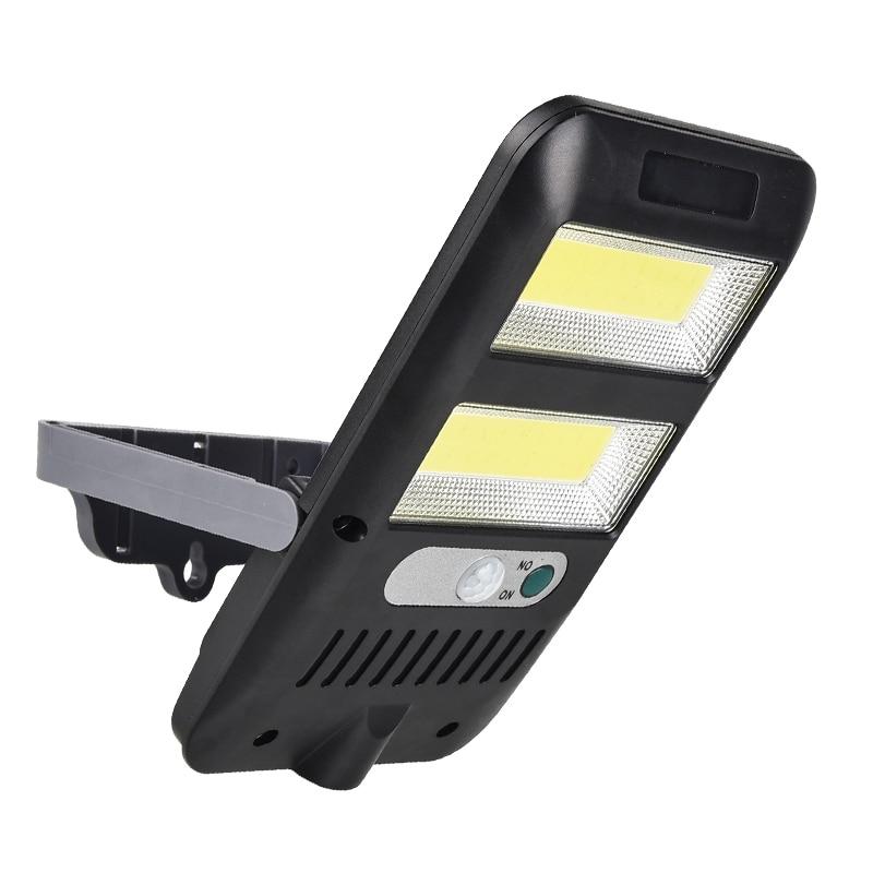 COB LED Solar Light Outdoor Solar Lamp PIR Motion Sensor Wall Light IP65 Waterproof Solar Powered Sunlight Street Garden Lights