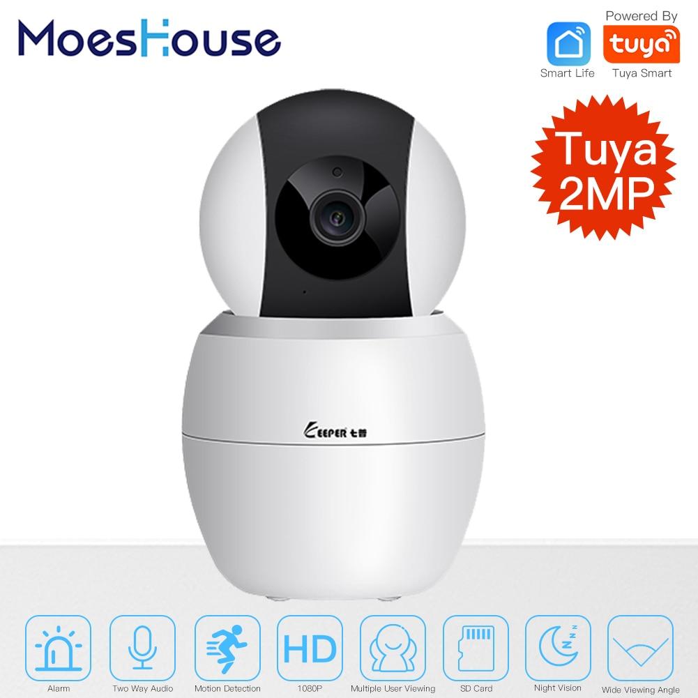 Tuya Smart Camera WiFi Security Rotating Camera HD 1080P Network Two-way Audio IP Camera