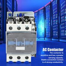 CJX2-4011 AC Contactor High Sensitivity 220V 40A 3 Phase 50/60Hz Din Rail Mounted AC Contacto Household ac Modular contactor new lc1d205m7c tesys d contactor 205a ac 220v 50 60hz lc1 d205m7c