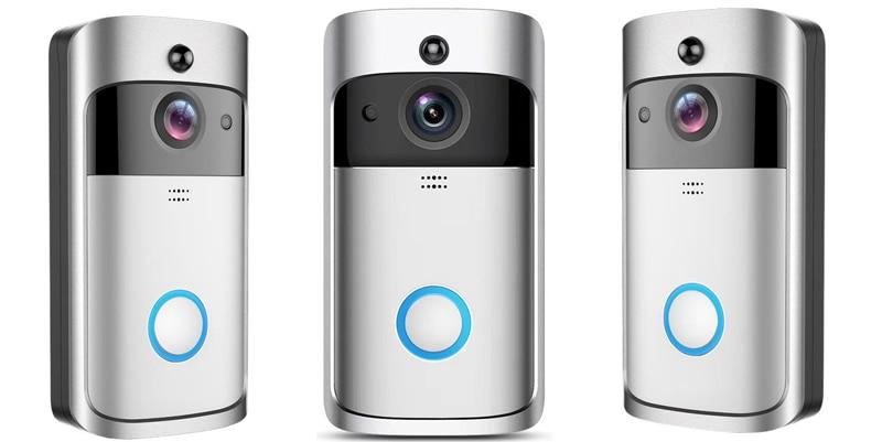 V5 Video Doorbell Smart Wireless WIFI Security Door Bell Visual Recording Home Monitor Night Vision Intercom door phone