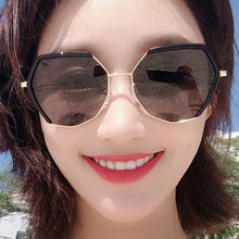 Солнцезащитные очки в Корейском стиле серые солнцезащитные с