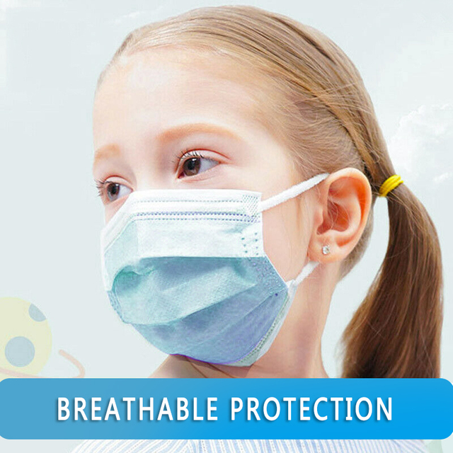 Disposable Mouth Face Mask Anti-Dust 3 Layer Mouth Masks Anti Flu PM2.5 Breathable Masks Face Care Elastic Earloop 4