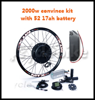2000w convince kit with 52 17ah battery