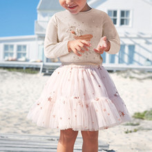 Girls Skirts Princess Lovely Tutu For 2-7 Years Kids Summer Clothing Short Girls Lace Skirts Dance Clothes Children Casual Skirt