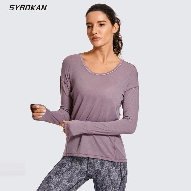 Women's Ultra-Light Quick Dry Long Sleeve Athletic Shirt