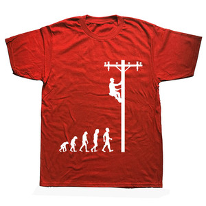 Image 3 - האבולוציה של הבלם מצחיק חשמלאי מתנת חולצה