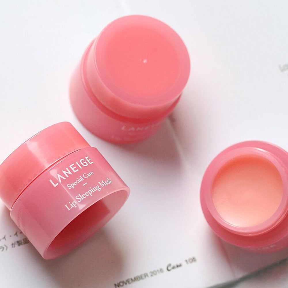 3G Korea Lip Slaapmasker Nacht Slaap Onderhoud Hydraterende Lippenbalsem De Roze Lippen Bleken Crème Voeden Beschermen Lippen zorg